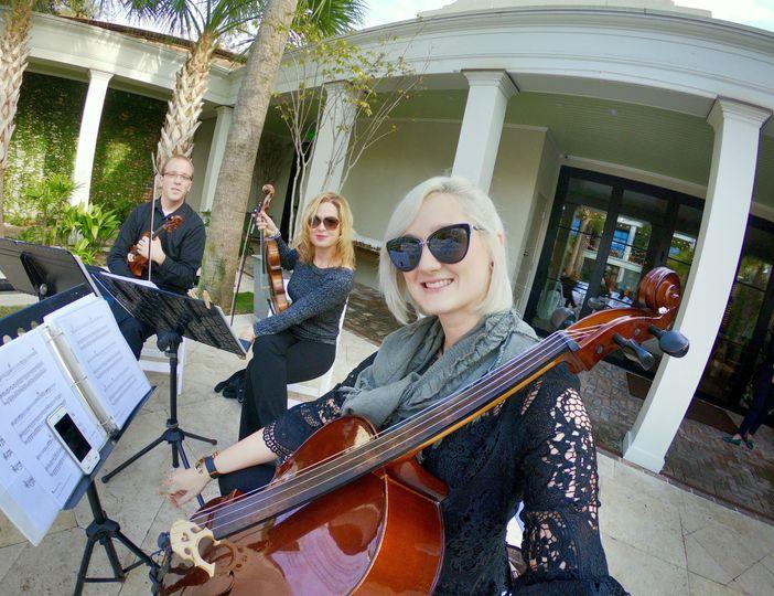 String Trio at Canon Green!