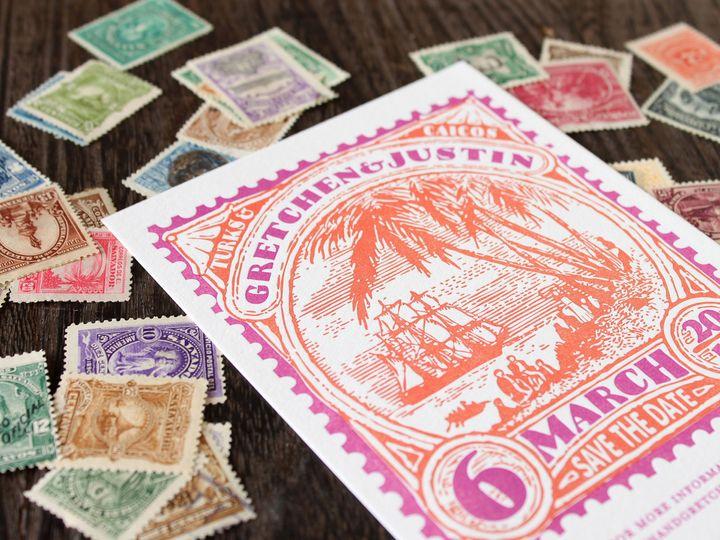 Tmx 1490894840006 Savedate Stamp11 Jamaica Plain wedding invitation