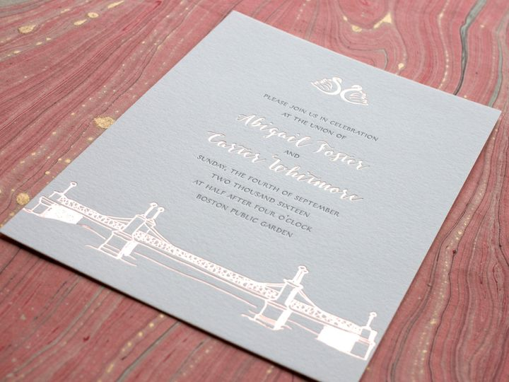 Tmx 1490894857610 Publicgarden Detail1 Jamaica Plain wedding invitation