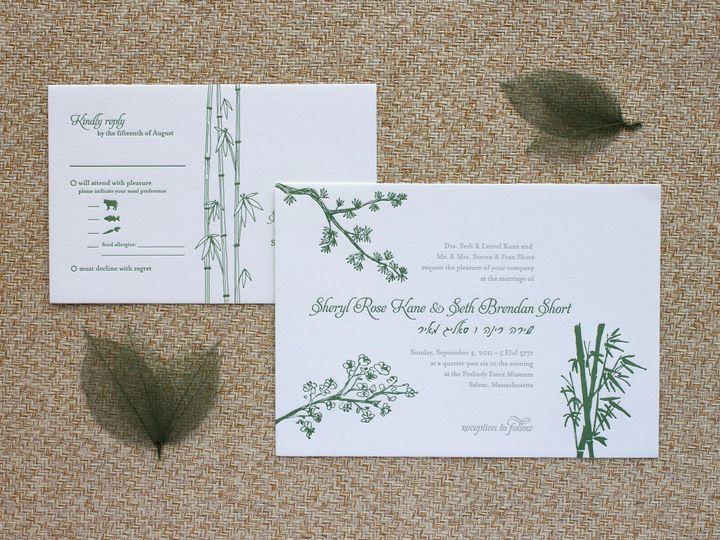 Tmx 1490894924221 Threefreinds Spread Jamaica Plain wedding invitation