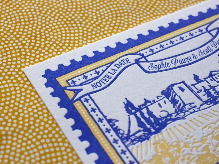 Tmx 1490895027207 Savedate Stamp9 Jamaica Plain wedding invitation