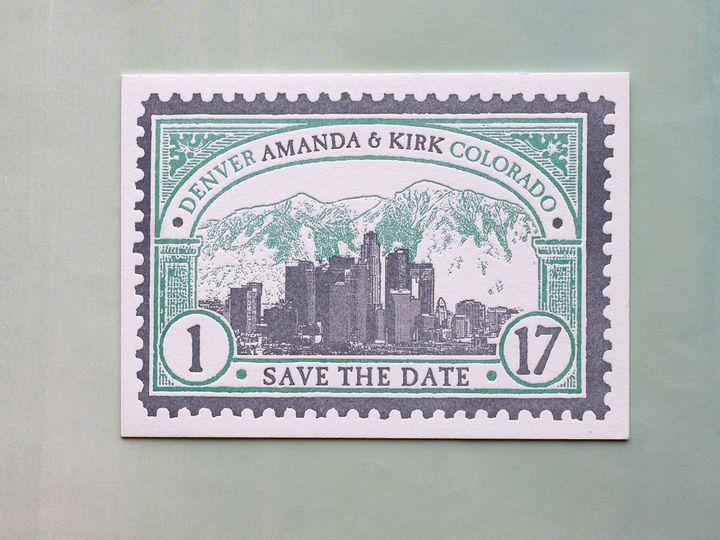 Tmx 1490895069642 Savedate Stamp3 Jamaica Plain wedding invitation