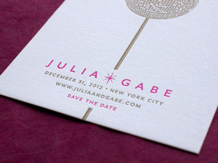 Tmx 1490895084086 Savedate Firstnight2 Jamaica Plain wedding invitation