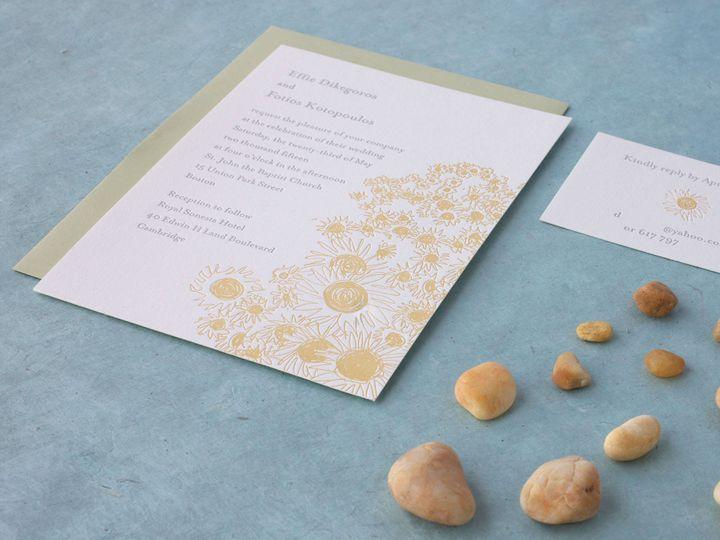 Tmx 1490895161184 Sunflowers Spread Jamaica Plain wedding invitation