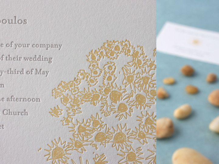 Tmx 1490895172967 Sunflowers Detail Jamaica Plain wedding invitation