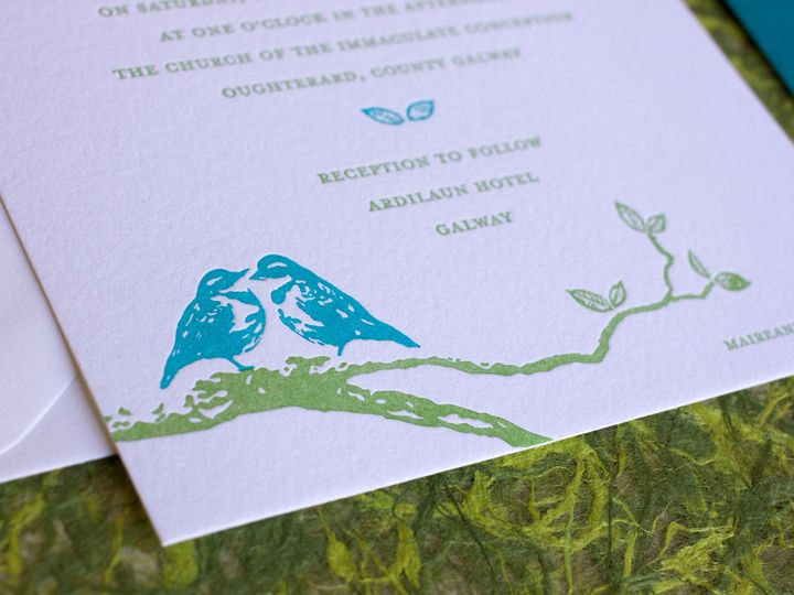 Tmx 1490895335287 Lovebirds Detail Jamaica Plain wedding invitation