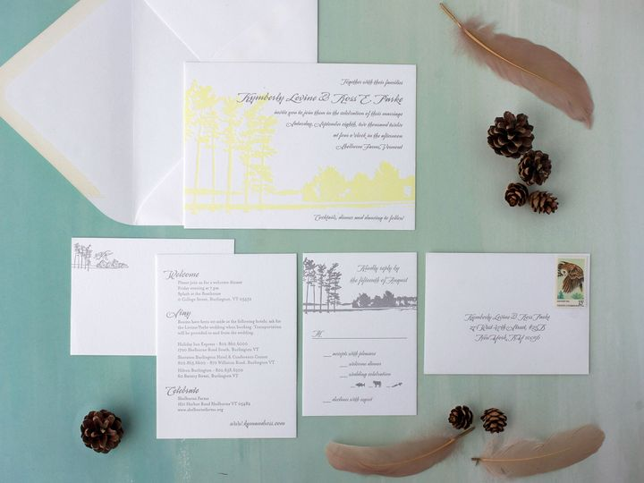 Tmx 1490895360124 Landscape Shelburne Spread Jamaica Plain wedding invitation