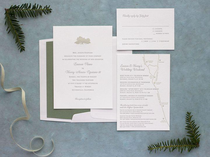 Tmx 1490896634519 Gnarlyoak Spread Jamaica Plain wedding invitation