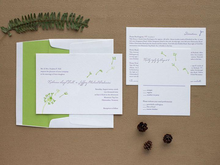 Tmx 1490896659173 Dandelion Spread2 Jamaica Plain wedding invitation