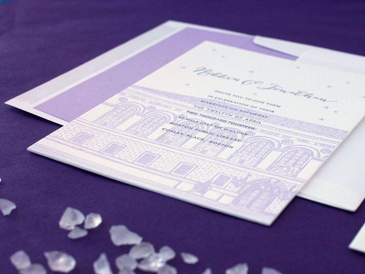 Tmx 1490896760949 Bostonpubliclibrary Detail2 Jamaica Plain wedding invitation