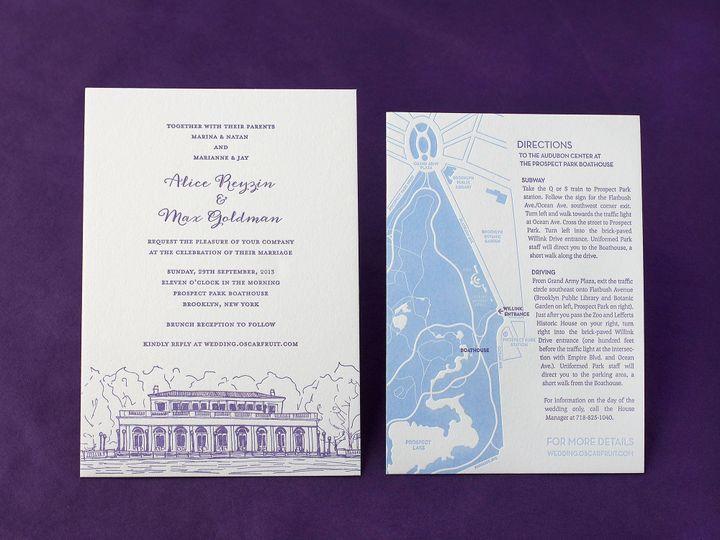 Tmx 1490896838325 Boathouse Spread Jamaica Plain wedding invitation
