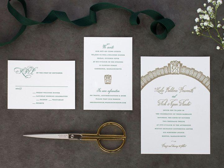 Tmx 1490896871683 Archway Spread Jamaica Plain wedding invitation