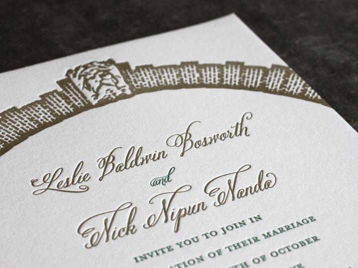 Tmx 1490896882848 Arches Detail Jamaica Plain wedding invitation