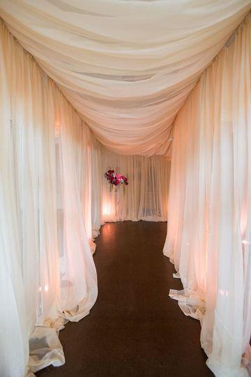 Fabric Hallway