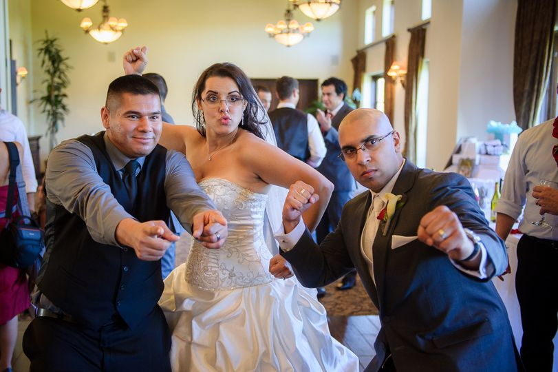 Southern Cali DJs and the bride