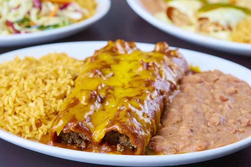 Classic Enchiladas-Beef-Chicken-Cheese and Spinach!