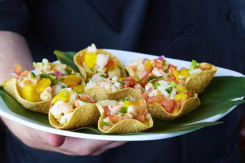 Passed Ceviche Cups