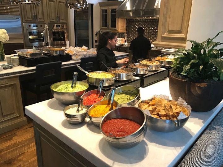 Home Buffet Set-Up