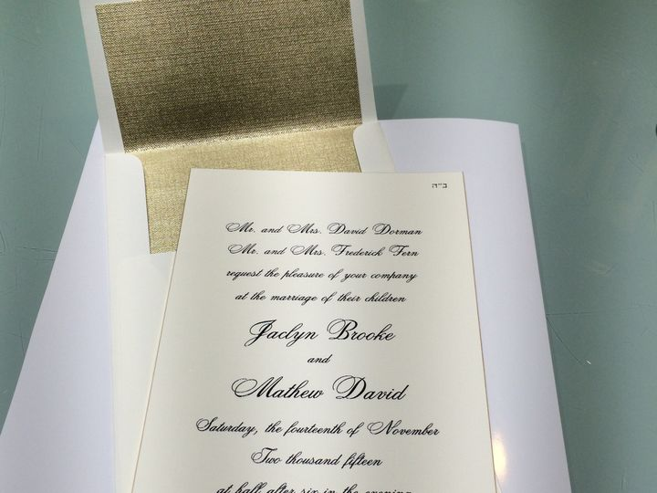 Tmx 1435602089696 Img3251 Holmdel wedding invitation