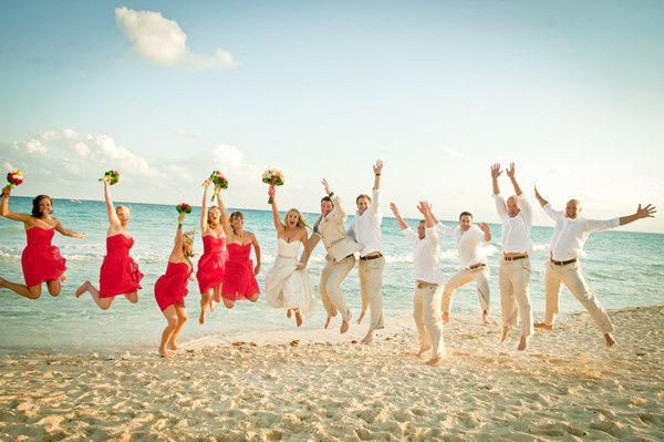 Tmx 1434816239181 Bride Jumping On Beach Fairport, NY wedding travel