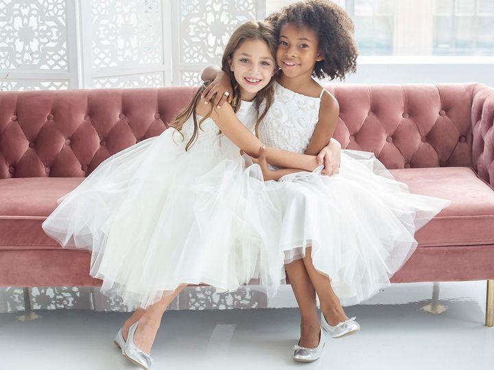 Tmx La Petite Hayley Paige Flower Girl Spring 2018 Style 5826 Dot 10 51 450478 157375758536886 Lake Oswego, OR wedding dress