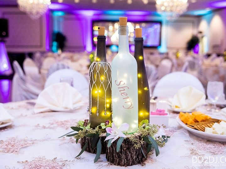 Tmx Michigan Wedding Photographers Centerpiece Uplighting 51 360478 157831914128272 Garden City, MI wedding dj