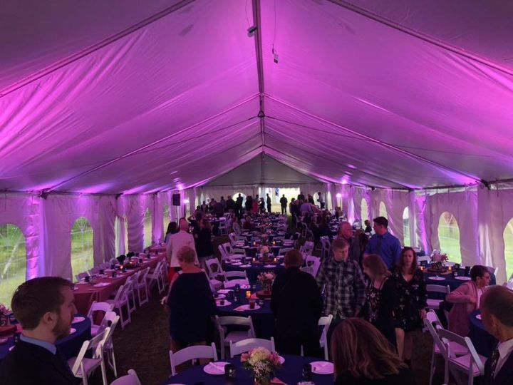 Tmx Uplighting Rental For Tent Purple Event Uplighting 51 360478 157831946449509 Garden City, MI wedding dj