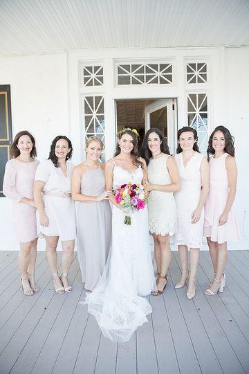 Jen & Bridemaids