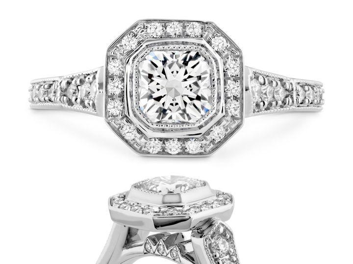 Tmx 1500315572196 Deco Chic Dream Halo Der C Libertyville, Illinois wedding jewelry