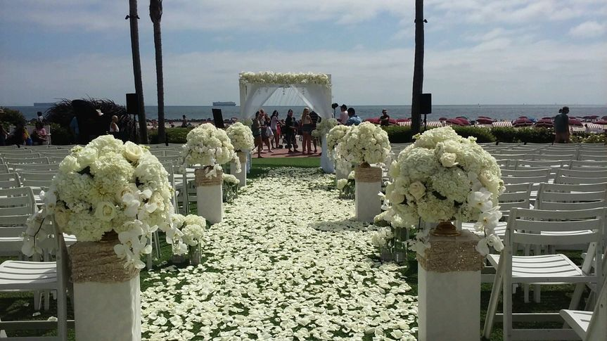 Ceremony at The Hotel Del Coronado