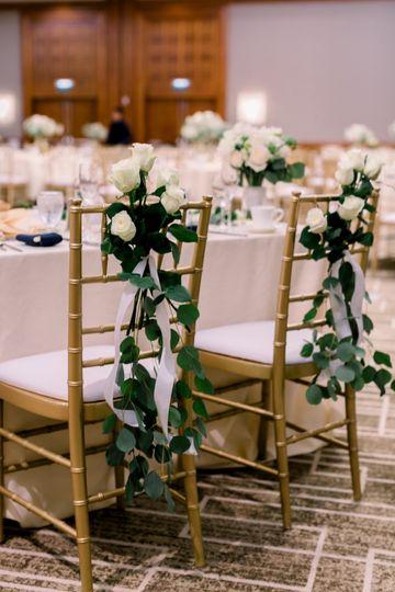 Sweetheart table chairs decor