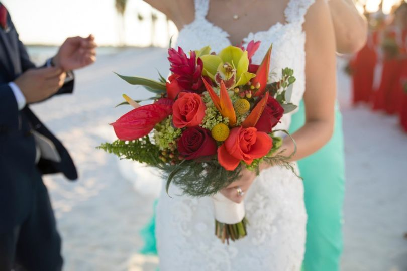 Bridal Bouquet Cancun