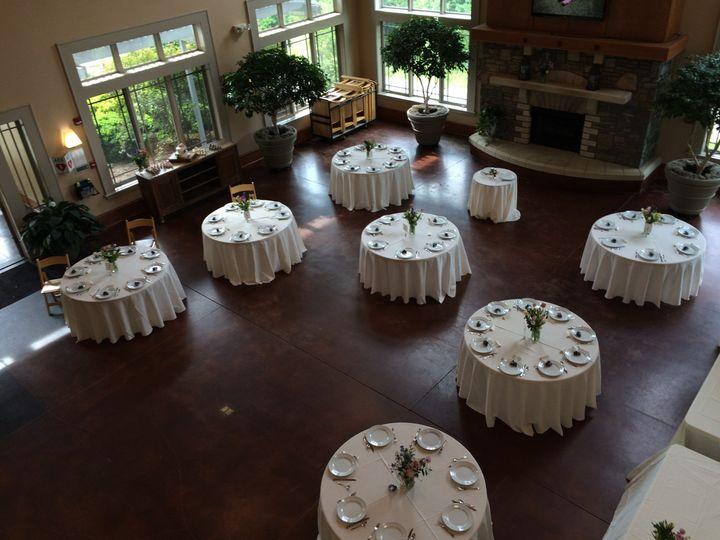 Interior, baker center, nc arboretum