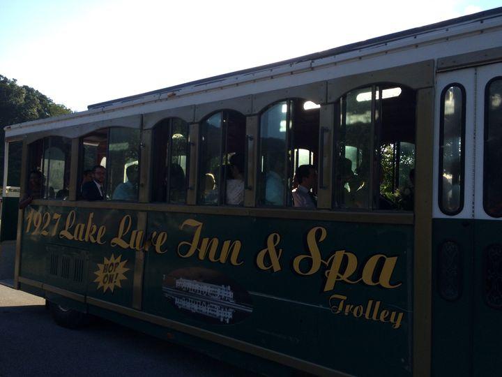 Lake Lure Inn and Spa Trolley
