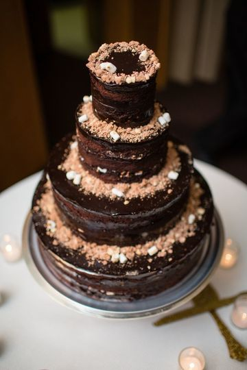 Four Tier Cake  in Chocolate Malt credit: lilian haidar photo
