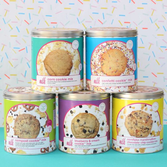 Cookie Baking Mixes credit: milk bar press