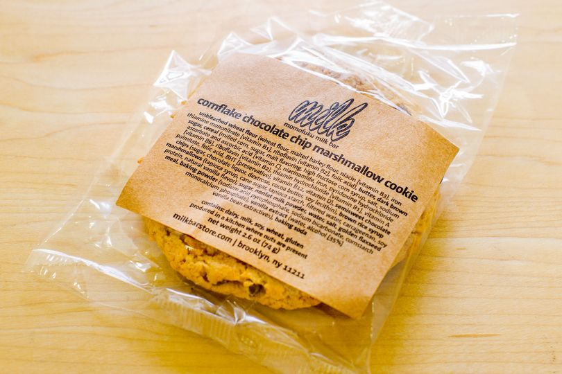 Cornflake Chocolate Chip Marshmallow Cookie credit: milk bar press