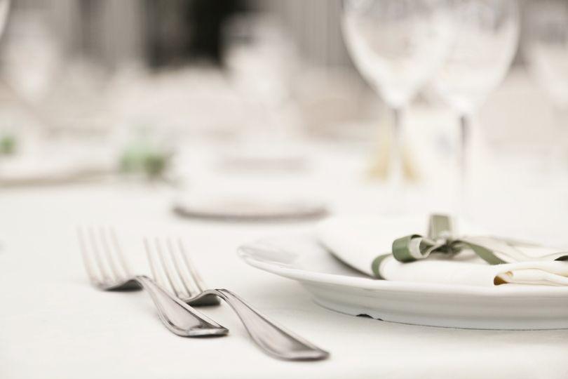 Full Service Table Setting