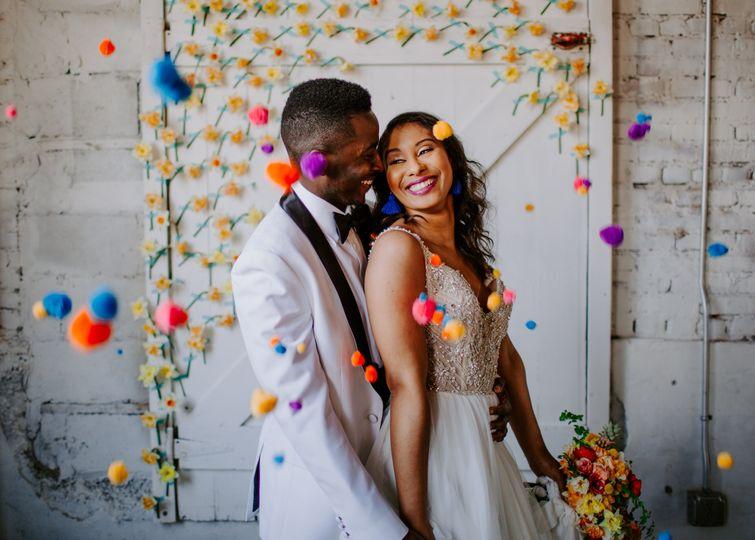 Brick Ballroom Wedding