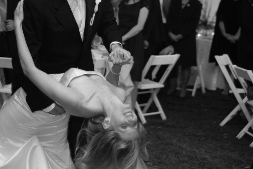 An extravagant first dance