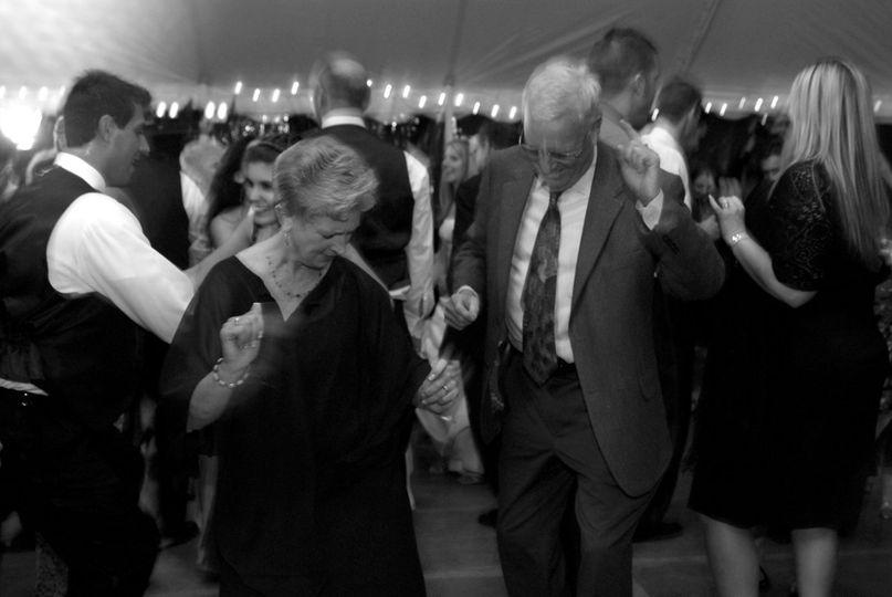 Loved ones on the dancefloor