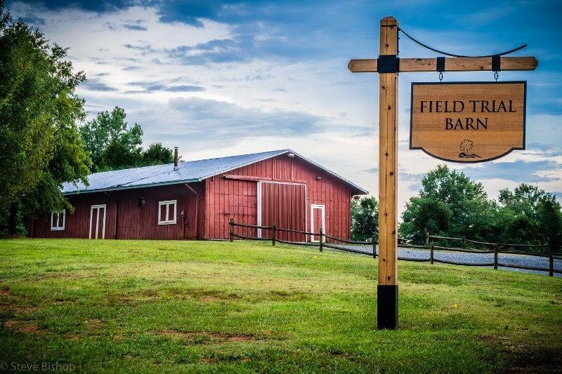 Field trial barn