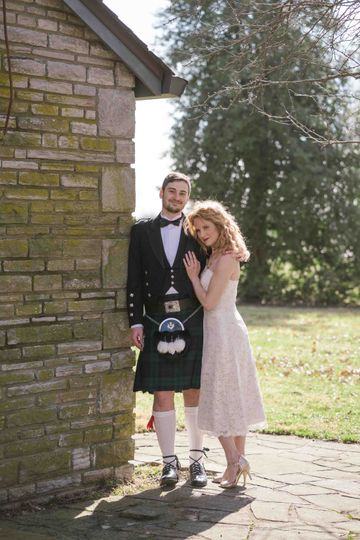 Scottish wedding in Lexington