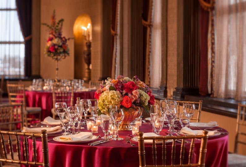 Beautiful setting in Grand ballroom