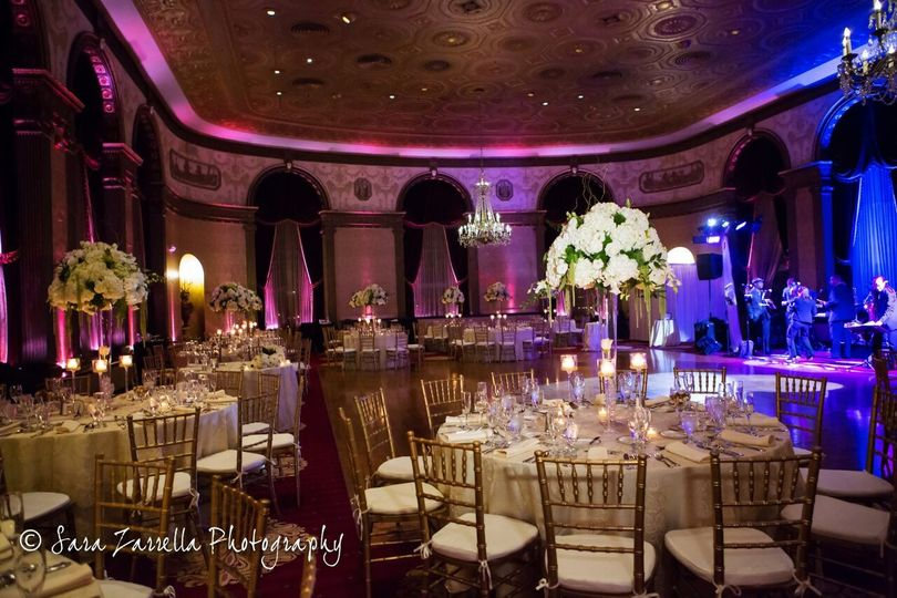 Gorgeous setting in the Grand ballroom