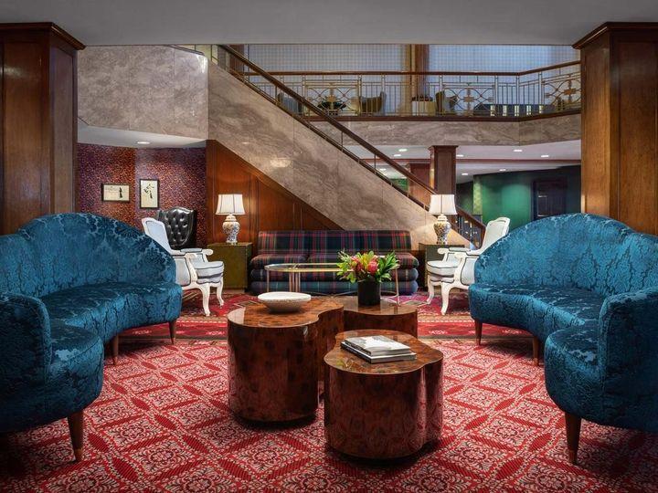 Tmx Lobby Blue Sofas 51 79478 1564851764 Providence, RI wedding venue