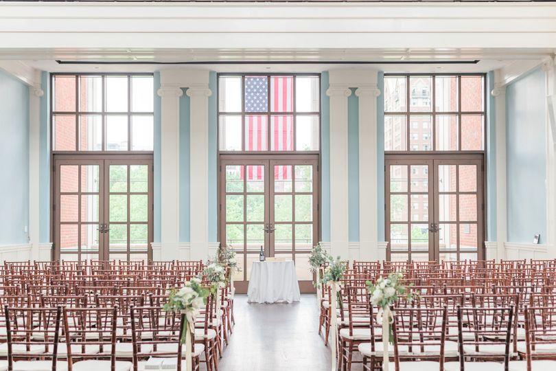 Liberty Hall Ceremony