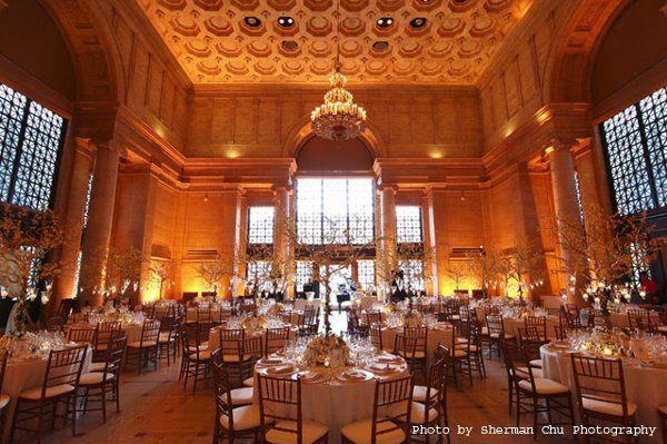 Dinner reception in samsung hall