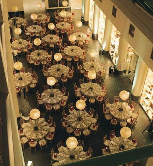 Dinner reception in the south court