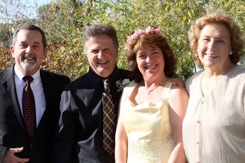 Parents of the newlyweds